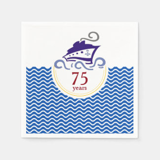 Special Cruise Celebration Paper Napkins Disposable Napkin