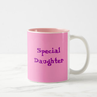 Special Daughter Coffee Mugs