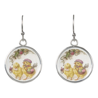 Special Delivery Easter Chicks Earrings
