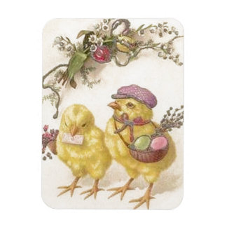 Special Delivery Easter Chicks Magnet