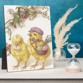 Special Delivery Easter Chicks Plaque