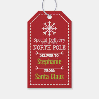Special Delivery From North pole and Santa Claus