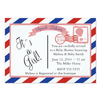 Special Delivery-Girl Card