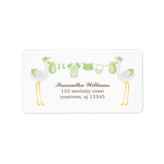Special Delivery {green} Address Label