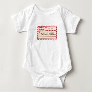 Special Delivery Personalized Baby Bodysuit