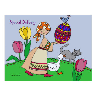 Special Delivery Postcard