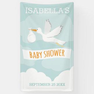 Special Delivery Stork Gender Neutral Baby Shower Banner