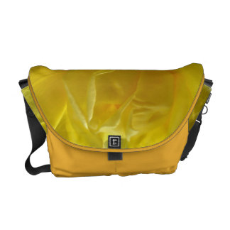 Special Design Messenger Bag With Yellow Rose