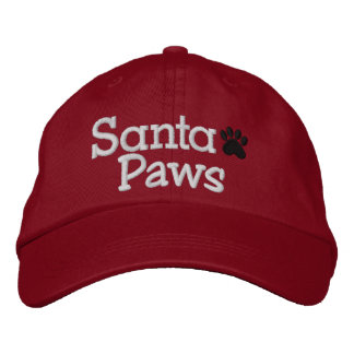 SPECIAL DISCOUNT SANTA PAWS Cap