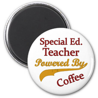 Special Ed. Teacher Powered By Coffee Magnet