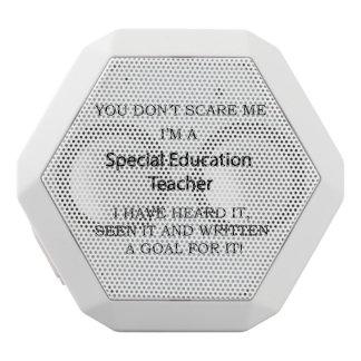Special Ed. Teacher White Bluetooth Speaker