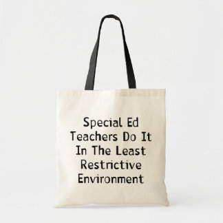 Special Ed Teachers Tote Bag