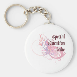 Special Education Babe Key Ring