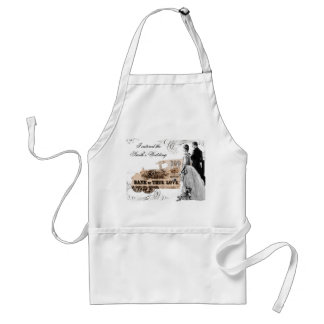 special Event, I catered the Smith's Wedding Adult Apron