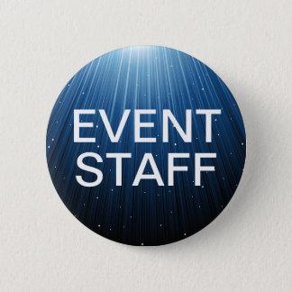 Special Event Staff 6 Cm Round Badge