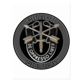 Special Forces GB Postcard