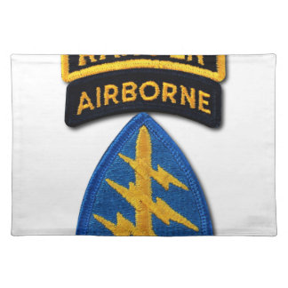 Special Forces Group Green Berets SF SOF SFG SOC Placemat