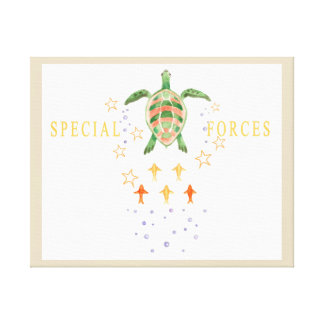 """""""Special Forces"""" Nursery Art Canvas"""