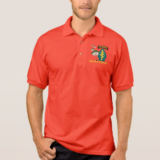 Special Forces [Parachutes, SF text] Polo Shirt
