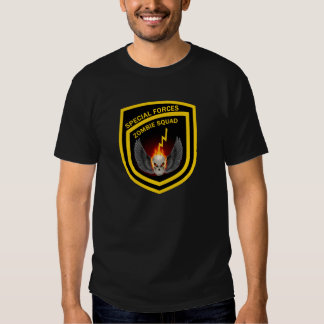 Special Forces Zombie Squad T-shirts