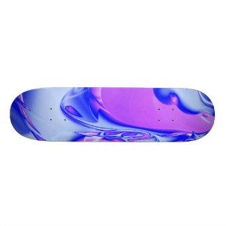 special fractal 24 pink skate deck