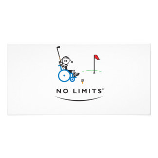 Special Golf Girl Photo Greeting Card