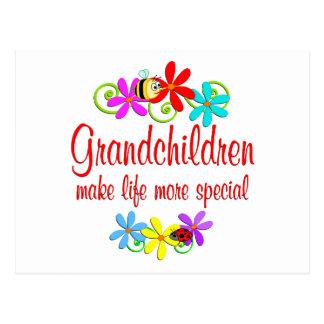 Special Grandchildren Postcard
