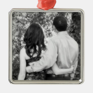Special High School Moments Silver-Colored Square Decoration