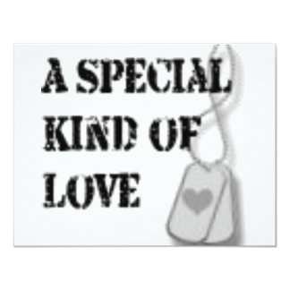 Special kind of love personalized invites