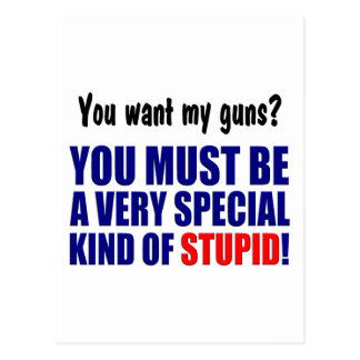 Special Kind of Stupid! Postcard