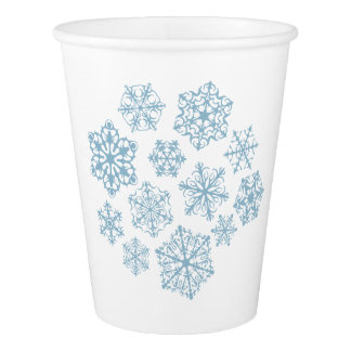 Special Little Snowflakes paper cups