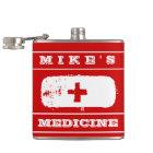 "Special ""Medicine"" Funny Flask for Him"