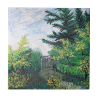 special nature small square tile