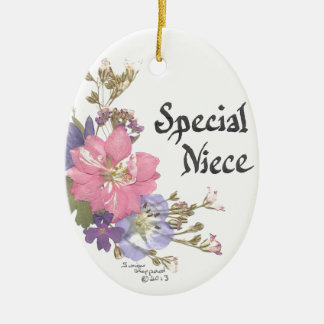 Special Niece Ceramic Ornament