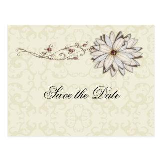 Special Occasion Elegant Floral Design Postcard