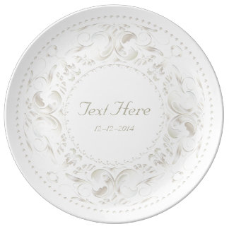 Special Occasion White Gold Medallion - Plate