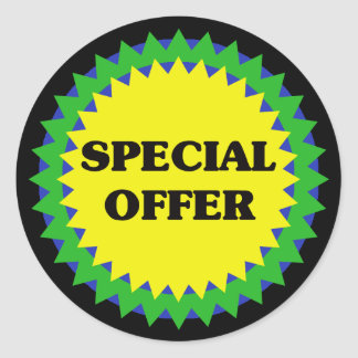 SPECIAL OFFER Retail Sale Sticker