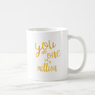 [Special] One In a Million Basic White Mug