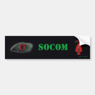 special operations command socom  Bumper Sticker