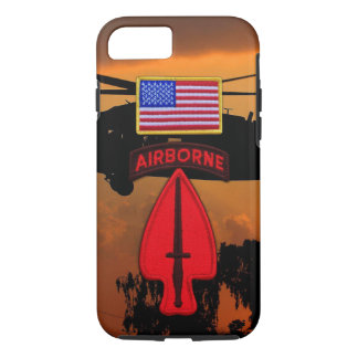 Special ops USASOC SOCOM Veterans Vets Patch iPhone 8/7 Case