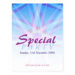 Special Party Invitation template Postcard