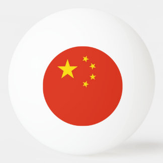 Special ping pong ball with Flag of China