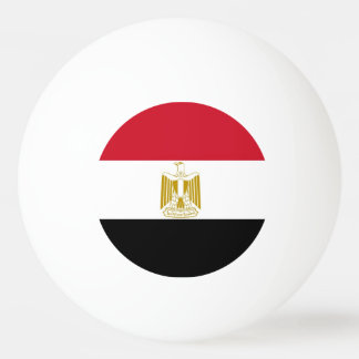 Special ping pong ball with Flag of Egypt