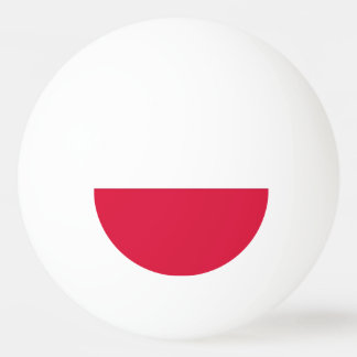 Special ping pong ball with Flag of Poland