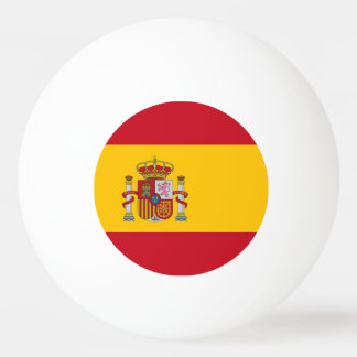 Special ping pong ball with Flag of Spain