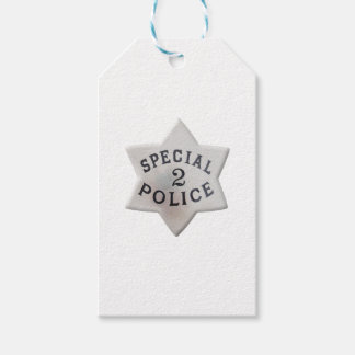 Special Police Gift Tags