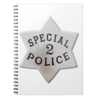 Special Police Spiral Notebook