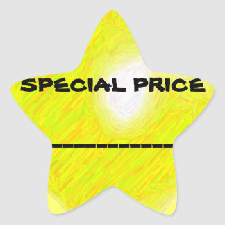 Special Price Sticker