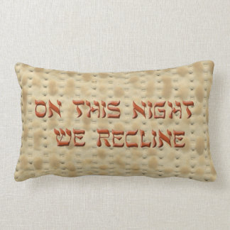 Special Seder Pillow Answers the 4th Question