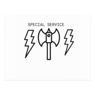 Special Service Postcard